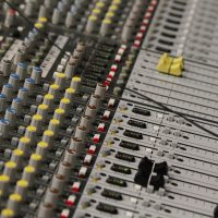 sound mixer used by event services